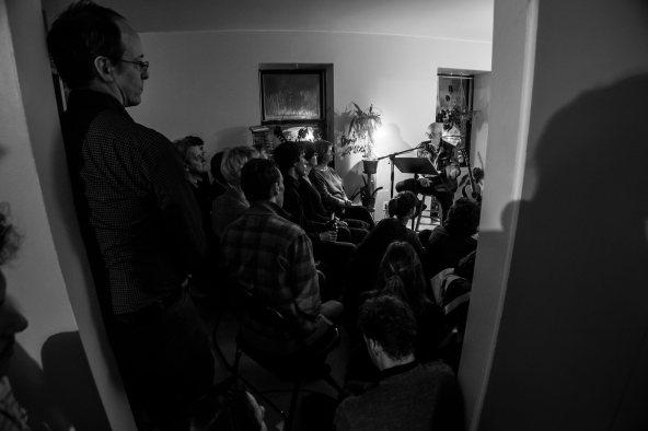 Wendakebec au Mois de la poésie 2017. Crédit photo Philippe Ruel