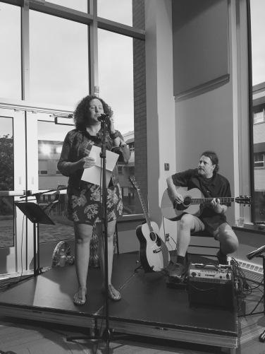 Rosalie Trudel et Frédéric Dufour guitariste