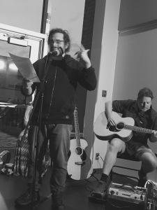 Thomas Langlois et Frédéric Dufour guitariste